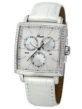 Bossart Co. Square-Glam P-1001-IPB Wrist for Her With crystals