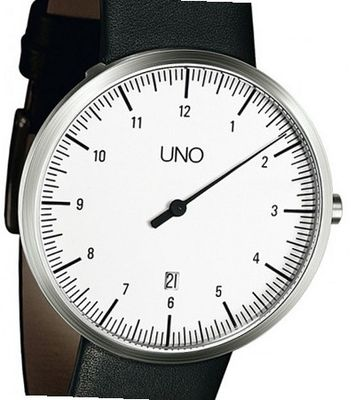 Botta-Design Uno Quartz with Date