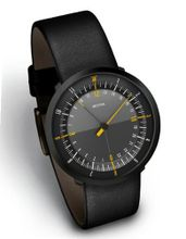 DUO 24 BLACK EDITION, by Botta-Design (Leather Strap) - 259010BE