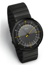 "DUO 24 ""Black Edition"" by Botta-Design (Steel Strap) - 259011BE"