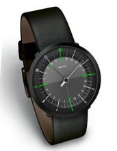 DUO BLACK EDITION by Botta-Design (Leather Strap), 258010BE
