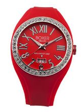 BOX 40Z RED Zircons Roman Numerals Luminous Red Date