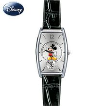 Disney Mickey Mouse With Interchangeable Leather bands: Mickey Now & Then