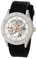"Breda 1450_blk ""Addison"" Mechanical See-Through Rubber Strap"