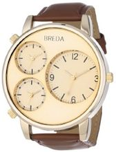 Breda 1627-Gold Mitchell Multi Time Zone