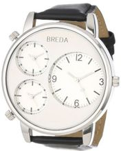 Breda 1627-silver Mitchell Multi Time Zone