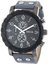 Breda 1635-blk/grey Steve Oversized Bold faux leather