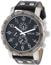 Breda 1635-F Steve Oversized Industrial Stud faux leather Band