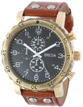 Breda 1635-gold/brown Steve Oversized Bold faux leather
