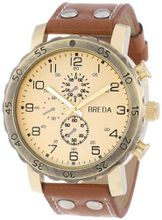 Breda 1635-H Steve Oversized Industrial Stud faux leather Band