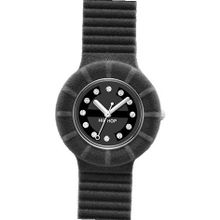 AUTHENTIC BREIL HIP HOP WATCH VELVET 40M BLACK -HWU0164