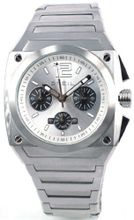 Breil Analogue Chronograph All Stainless Steel Bracelet Strap TW0690