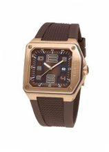 Breil - BW0388 - Gents Logo Brown Dial Gold IP Swiss Made