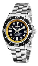 Breitling A1736402/BA32SS Superocean Abyss Black and Yellow Dial