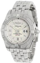 Breitling A49350L2/G699 Galactic 42 Silver Dial