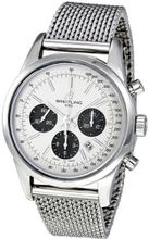 Breitling AB015212/G724SS Transocean 01 Silver Dial