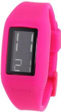 Breo Block Unisex Digital with LCD Dial Digital Display and Pink Plastic Strap B-TI-BLK3