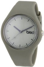Breo Classic Unisex Quartz with Grey Dial Analogue Display and Grey Rubber Strap B-TI-CLC9
