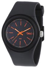 Breo Zen Quartz with Black Dial Analogue Display and Black Plastic or PU Strap B-TI-ZEN7
