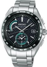 SEIKO BRIGHTZ controlled daily life reinforced water resistant (10 ATM) solar radio fix Sapphire Super clear coating SAGA133 mens