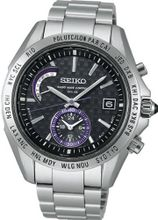 SEIKO BRIGHTZ Reinforced waterproof (10 atm) super clear coating sapphire glass Solar Radio SAGA117 [Japan Import]