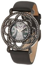 Brillier 04-11121-04 Papillon Swiss-Quartz Mother-Of-Pearl