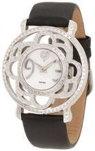 Brillier 04-41421-01 Papillon Swiss-Quartz Mother-Of-Pearl