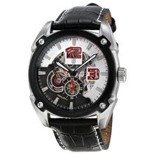 Brooklyn Company Automatic Skeleton Dial Stainless Steel 13381B