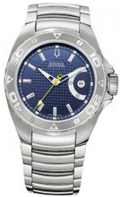 Accutron 63B132 Curacao - Blue Dial Stainless Steel Case Automatic Movement