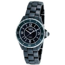 Burgi Black Ceramic Quartz Date Bracelet Ladies BUR057BK