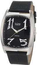Burgi BU36B 'Heart O' Diamonds' Swiss Quartz Diamond Classic Stainless Steel