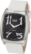 Burgi BU36W Heart O' Diamonds' Swiss Quartz Diamond Classic Stainless Steel