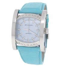 Bvlgari Assioma AA44S Leather Band Automatic Ladie's