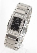 Bvlgari Assioma Quartz Diamonds Ladies AA35BSDS