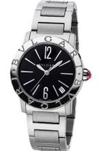 Bvlgari Bvlgari Black Dial Stainless Steel Ladies BBL26BSSD