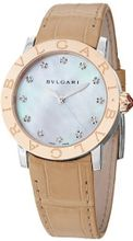 Bvlgari Bvlgari Ladies Automatic Two Tone Diamond BBL33WSPGL/12