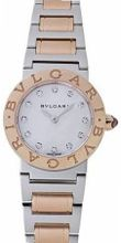 Bvlgari Bvlgari Mother of Pearl Dial 18kt Rose Gold Stainless Steel Ladies BBL26WSPG-12
