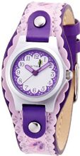CAC Girls with White Dial and Pink Ballet Shoe Strap CAC-29-L09