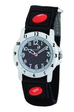 Cactus Boy's Quartz Analogue CAC-48-M14 with Black Football Velcro Nylon Strap