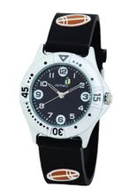 Cactus Boy's Quartz Analogue CAC-51-M14 with Black Rugby 3D PU Strap