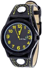 Cactus Children's Quartz with Black Dial Analogue Display and Black Plastic Strap CAC-61-M10