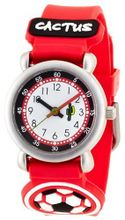 Cactus Football Time Teacher Red Strap Boys CAC-27-M07