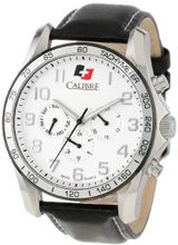 "Calibre SC-4B1-04-001 ""Buffalo"" Stainless Steel and Leather"
