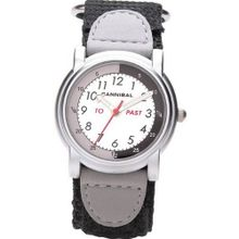 Cannibal Active Analogue Time Teacher Childrens/Boys Velcro Strap CT203-03