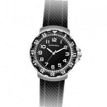 Cannibal Active Black Dial & Leather Strap Children's CJ091-03