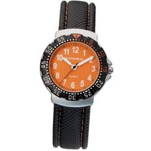 Cannibal Active Black Dial & Leather Strap Children's CJ091-19