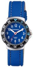 Cannibal Active Blue Dial & Leather Strap Children's CJ091-04
