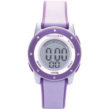 Cannibal Active Girl's Digital Multifunction Purple Strap CD213-16