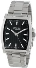 Caravelle by Bulova 43A103 Classic Stainless Steel with Black Dial