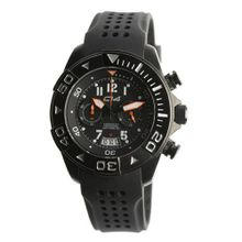 Carbon 14 W1.1 Water 100M Chronograph Black and Grey Dial